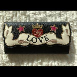 Authentic Dolce & Gabbana love wallet